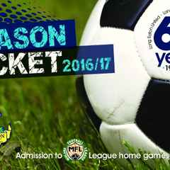 2016/17 Season Tickets