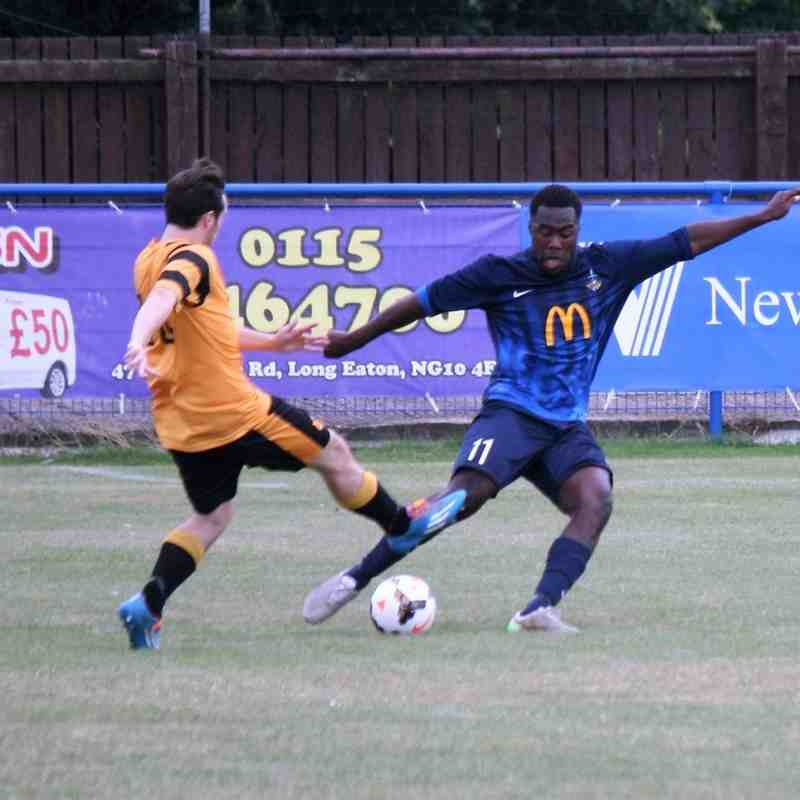 Long Eaton United v Stourport Swifts 13th Aug 2016