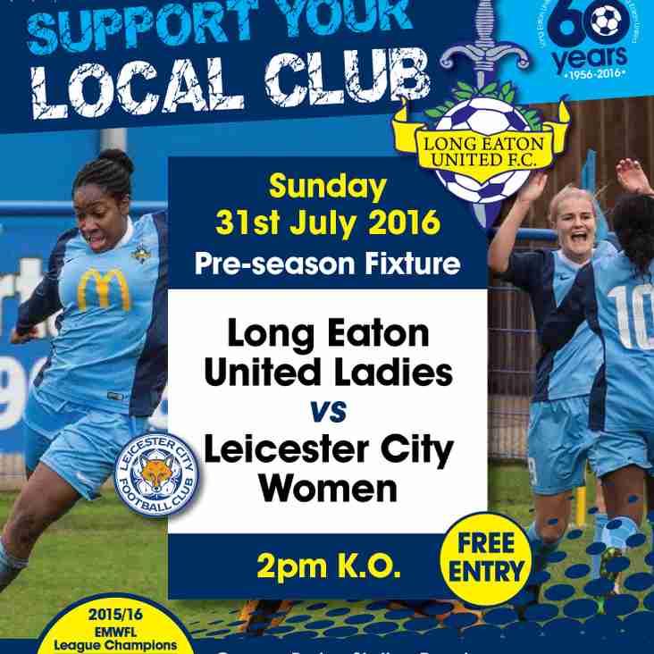 Long Eaton United Ladies v Leicester City Ladies