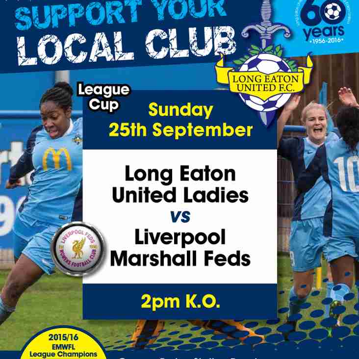 Long Eaton United Ladies v Liverpool Marshall Feds