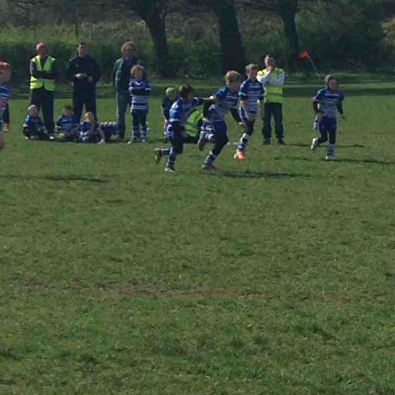 Siddal Bulldogs U9's v Keighley Albion Sunday 13 April 2014