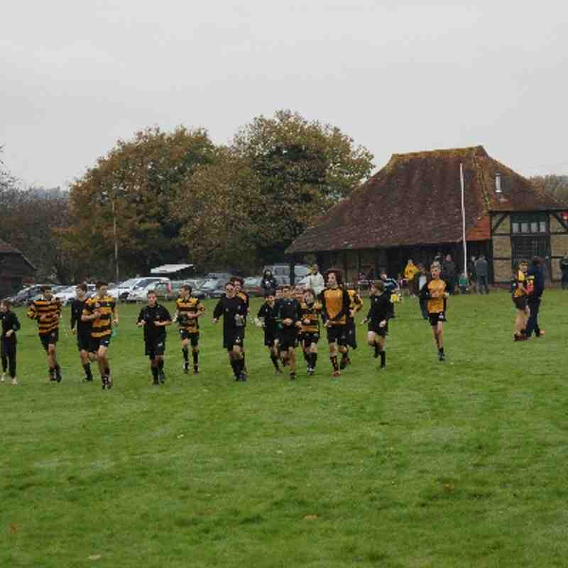 U14 vs Midhurst 17 Nov 2013