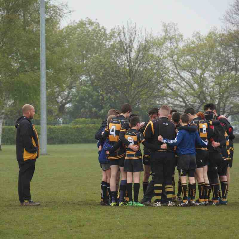 U15 vs Colchester 3rd May 2015 TOWIE Tour