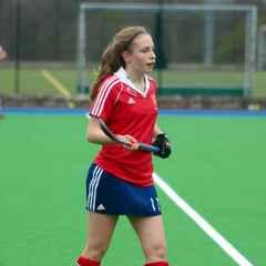 Alice represents England U16s v Belgium