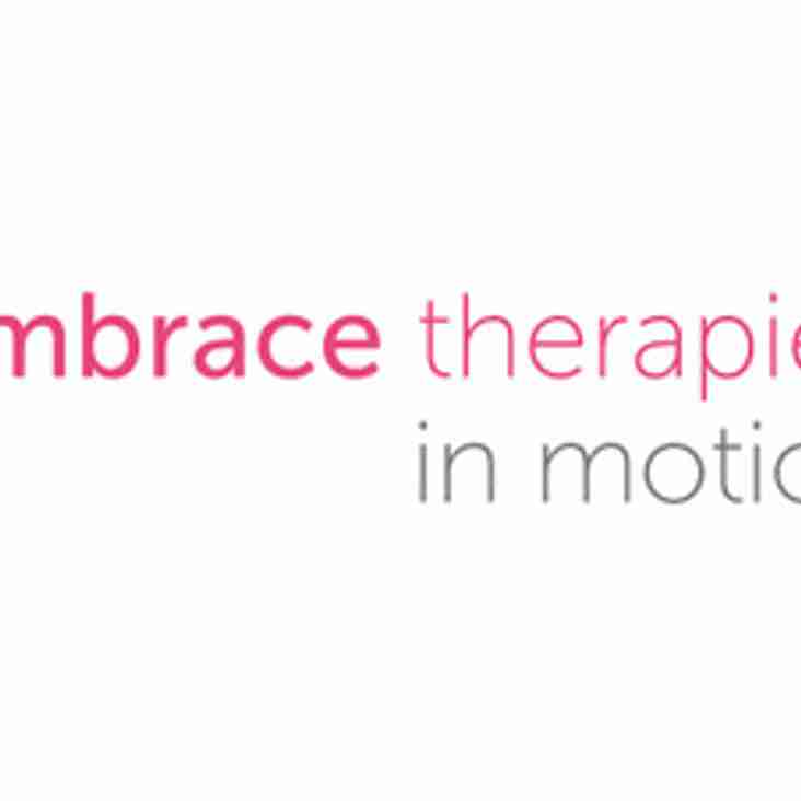 Embrace Therapies join as club physio