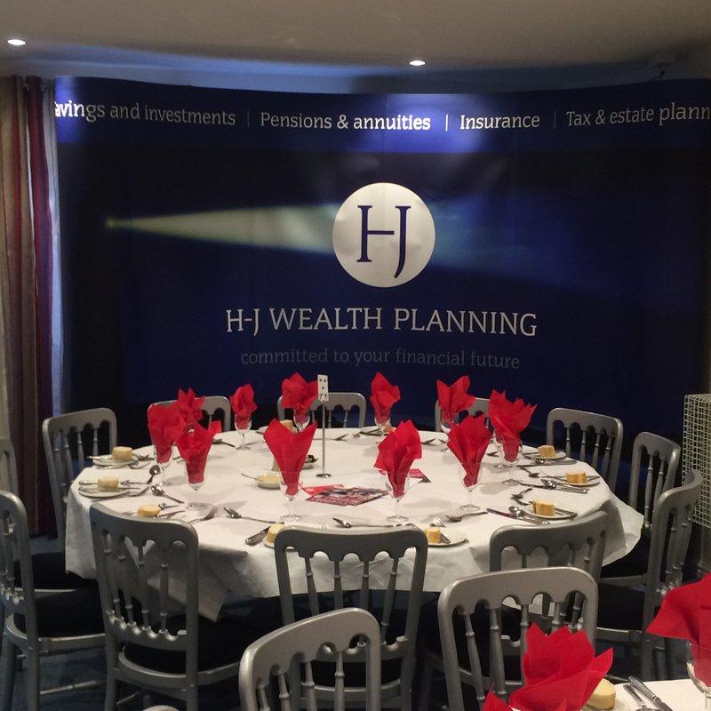 VP Lunch Sponsored by  H-J Wealth Planning LTD