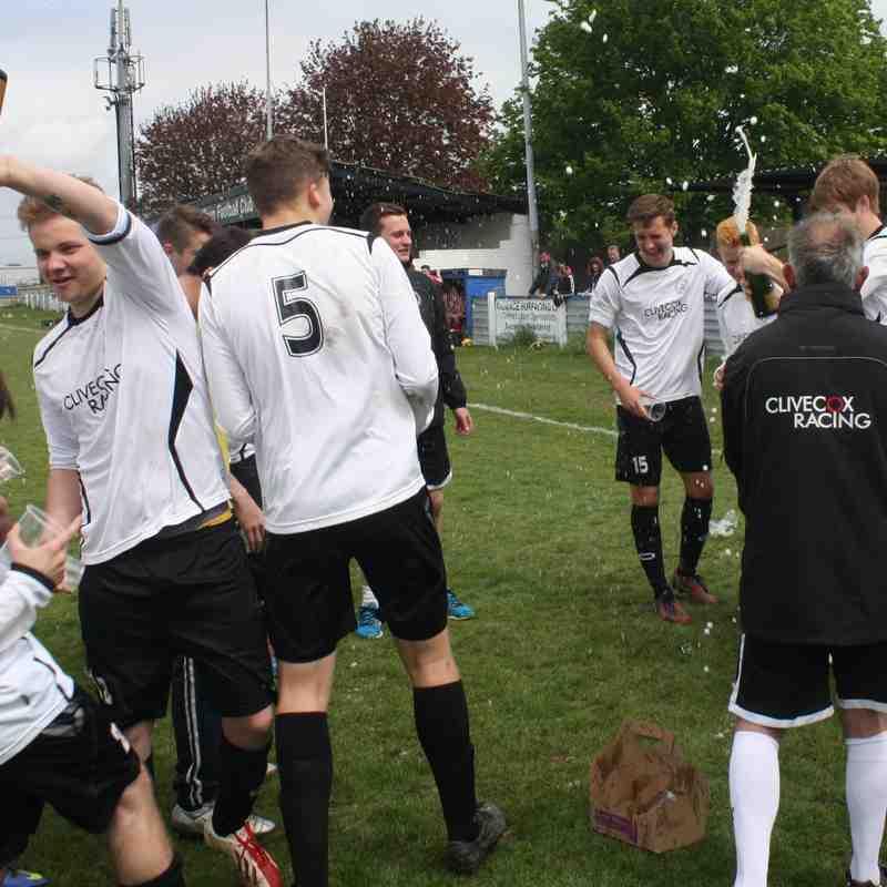 Hungerford Town U18's Celebration