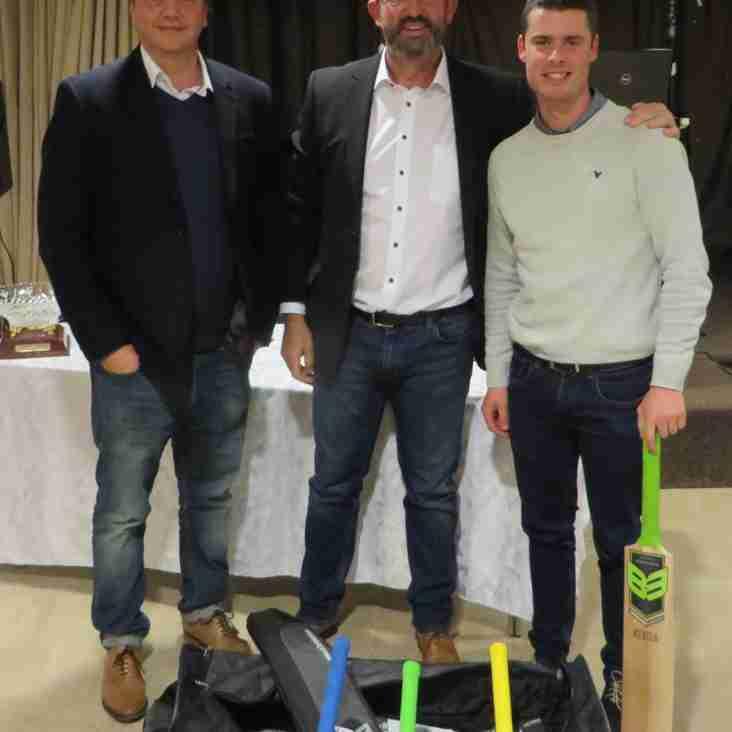 Jake Libby picks up B3 Player of The Season Award