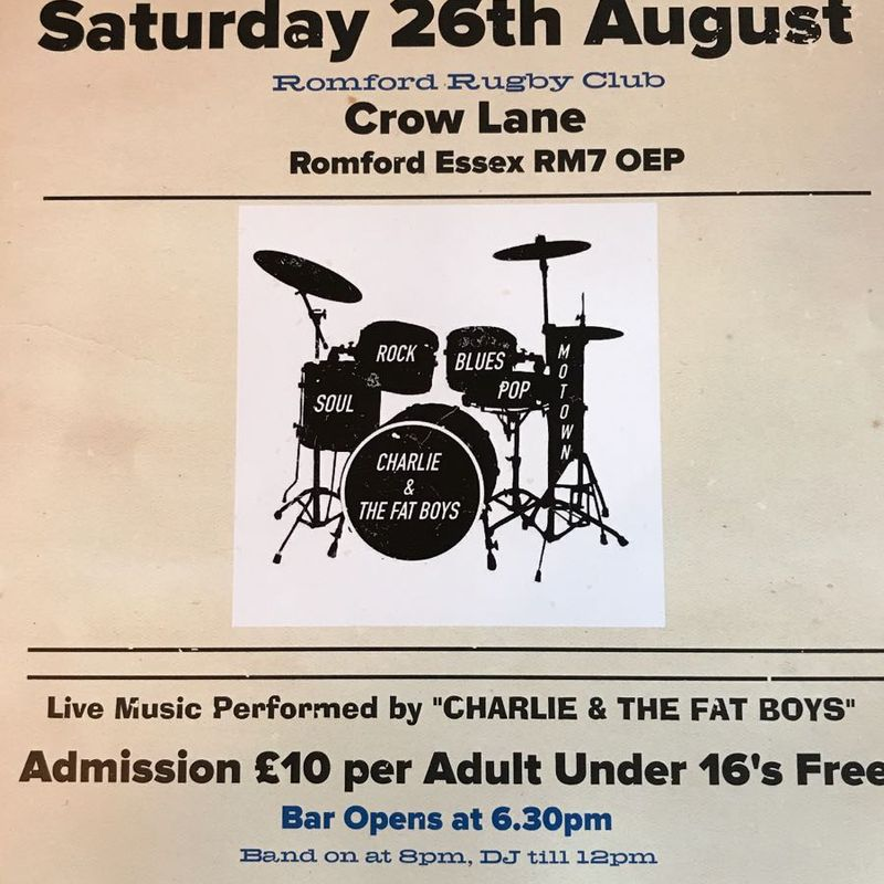 Live Band at the Club -26th Aug