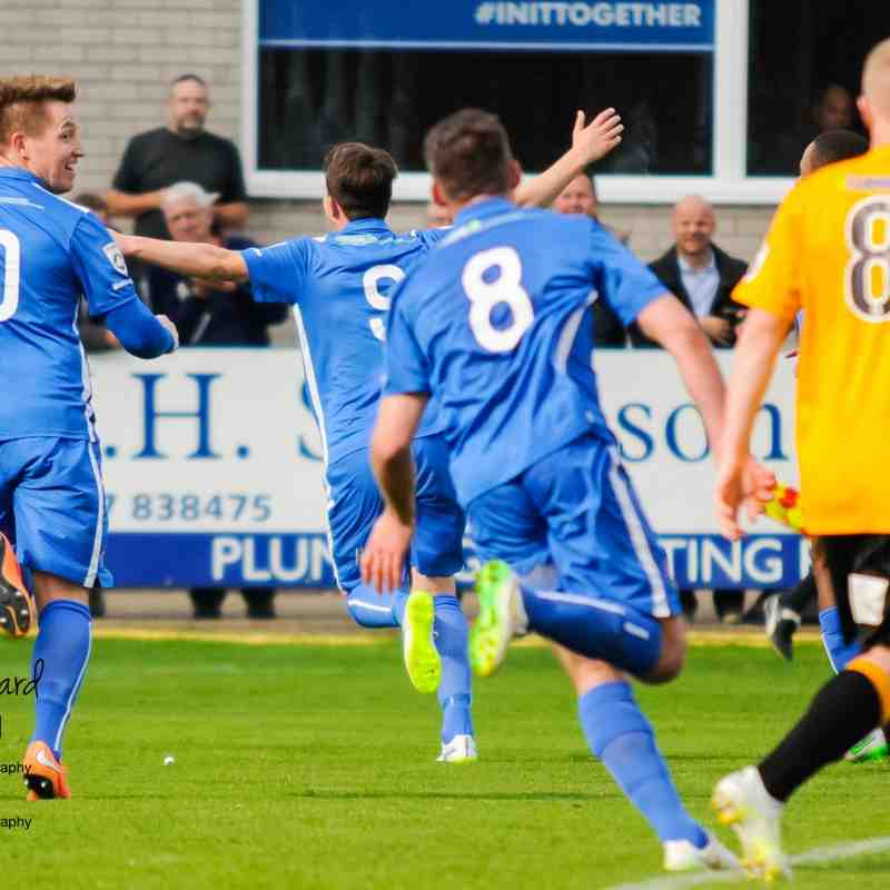 Gainsborough Trinity vs Boston United