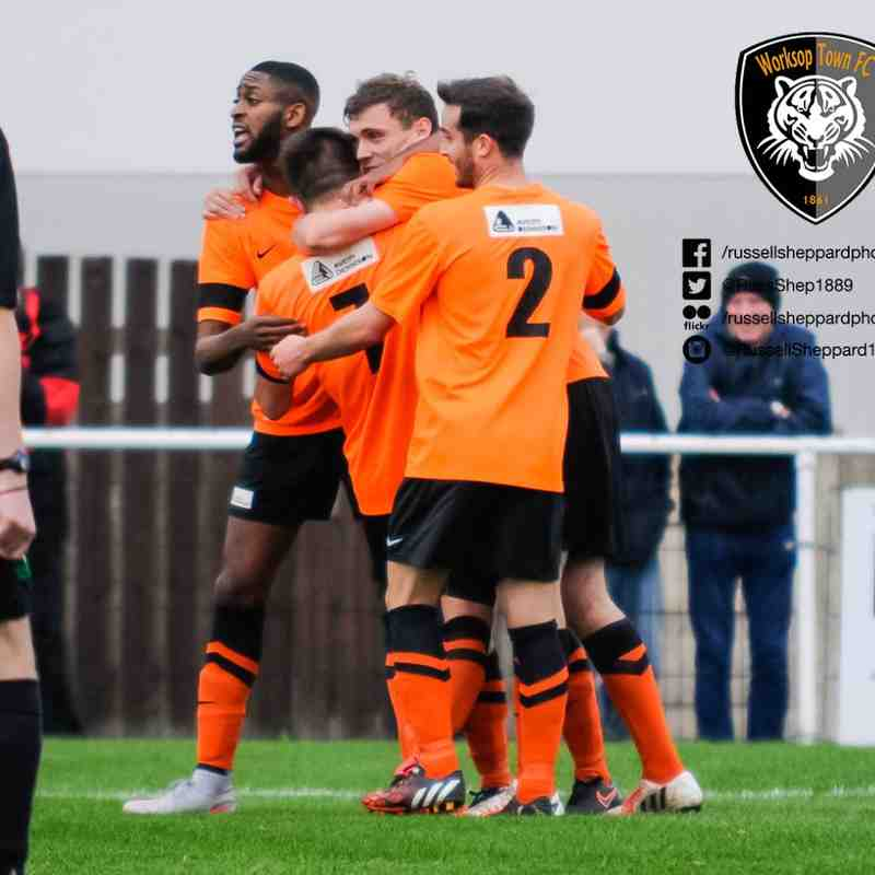 Worksop Town vs Barton Town Old Boys