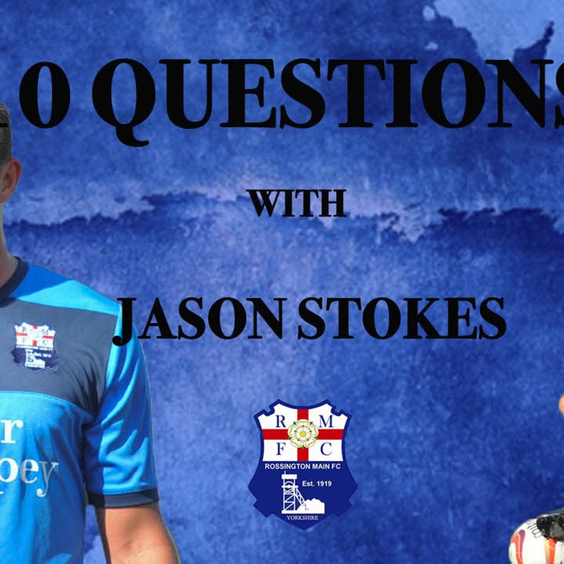 10 questions with Jason Stokes