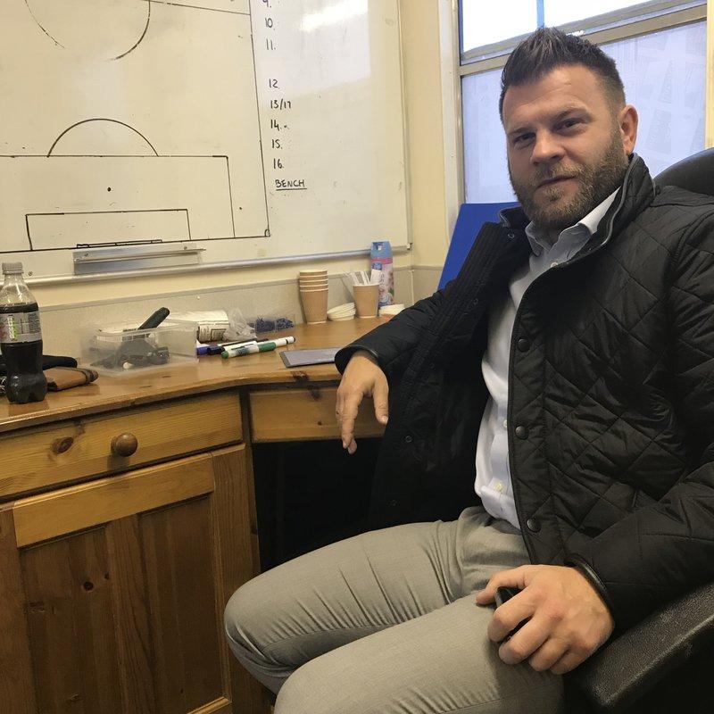 Post match Dronfield Town interview