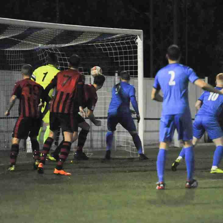 Dronfield Town match report