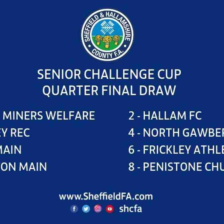 Sheffield and Hallamshire senior cup quarter final