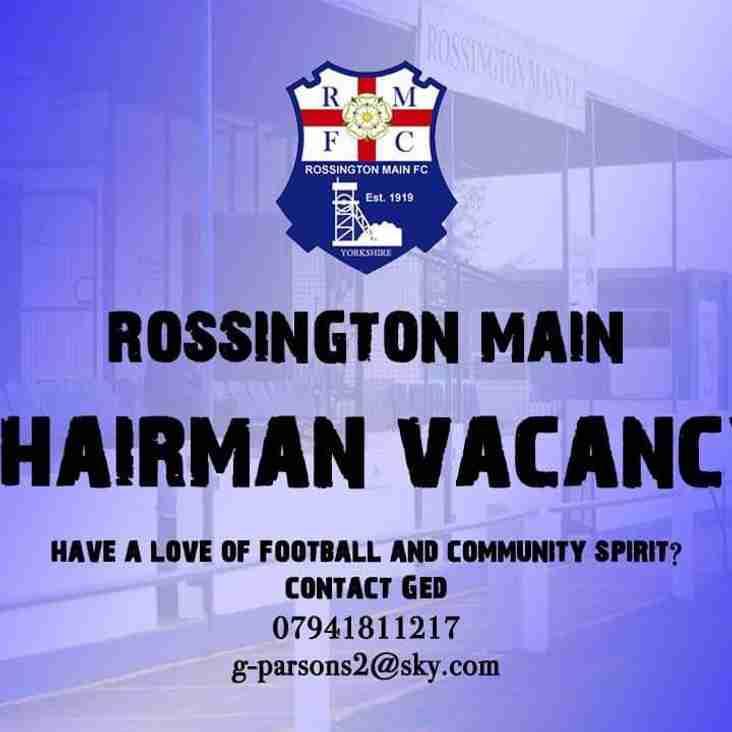 Chairman vacancy