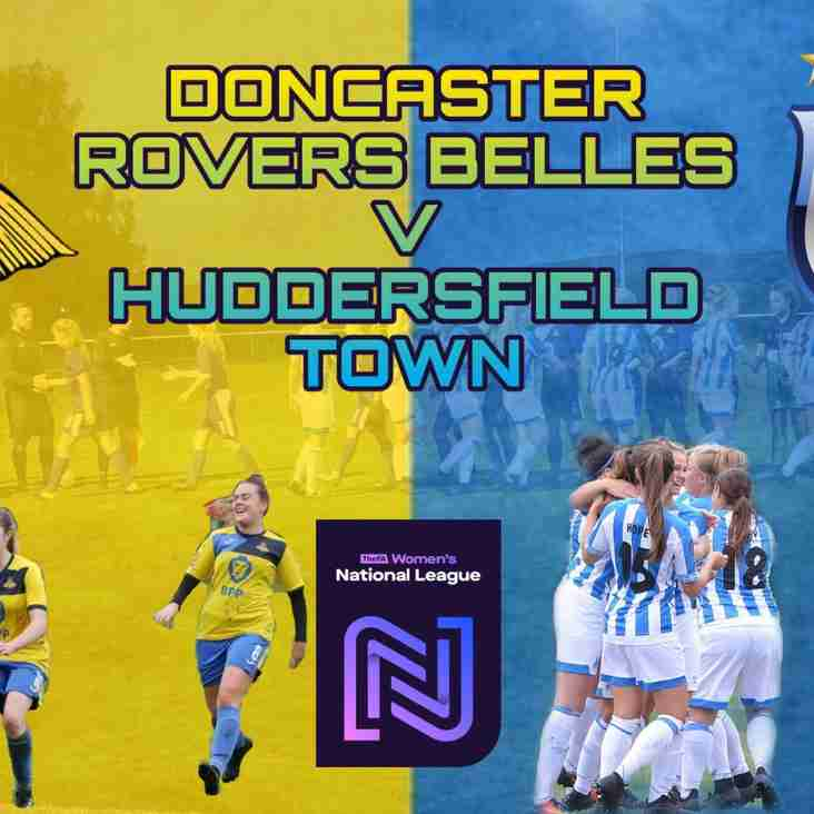 Doncaster Rovers Belles vs Huddersfield Town