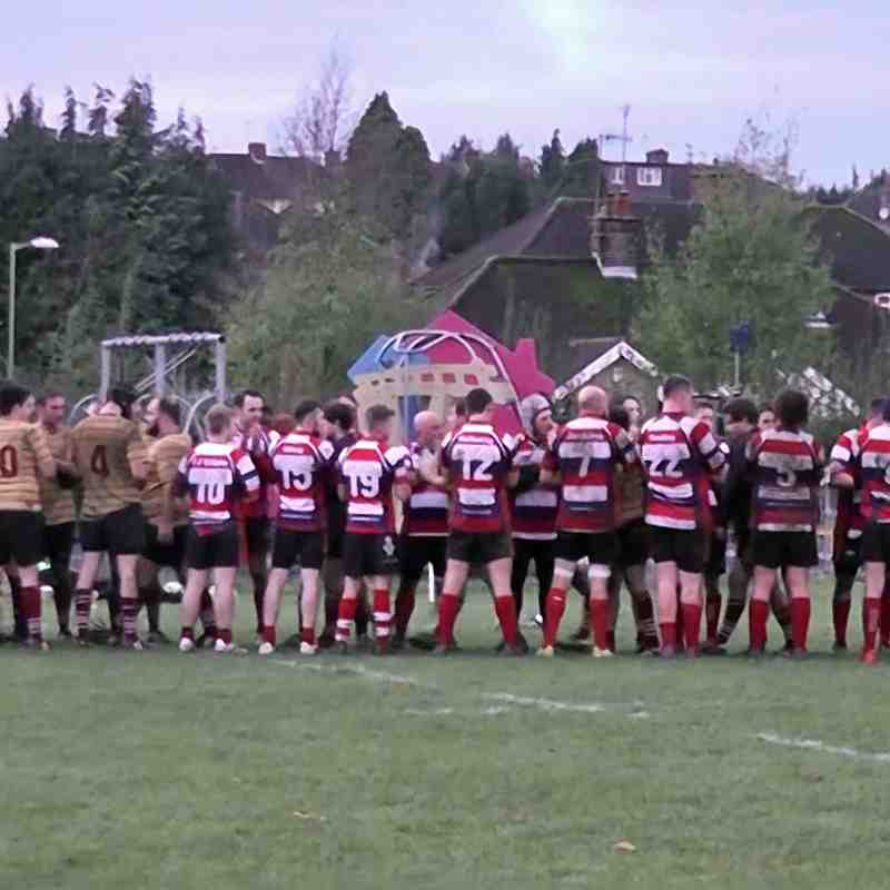 WRFC 1st XV vs UCS Old Boys RFC 1st XV - 11th November 2017