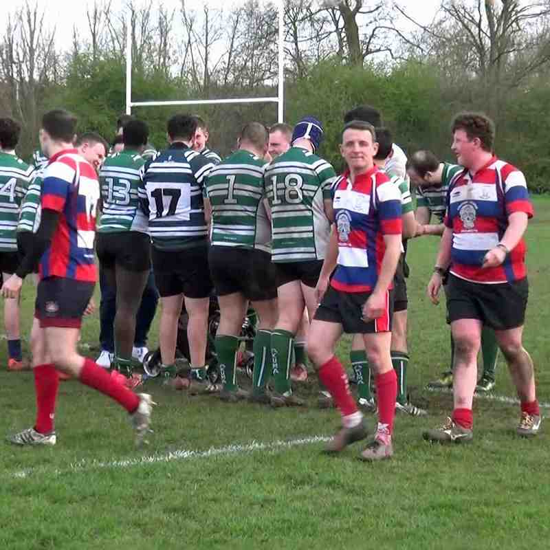 WRFC 1st XV vs Hendon RFC 1st XV - 07 April 2018