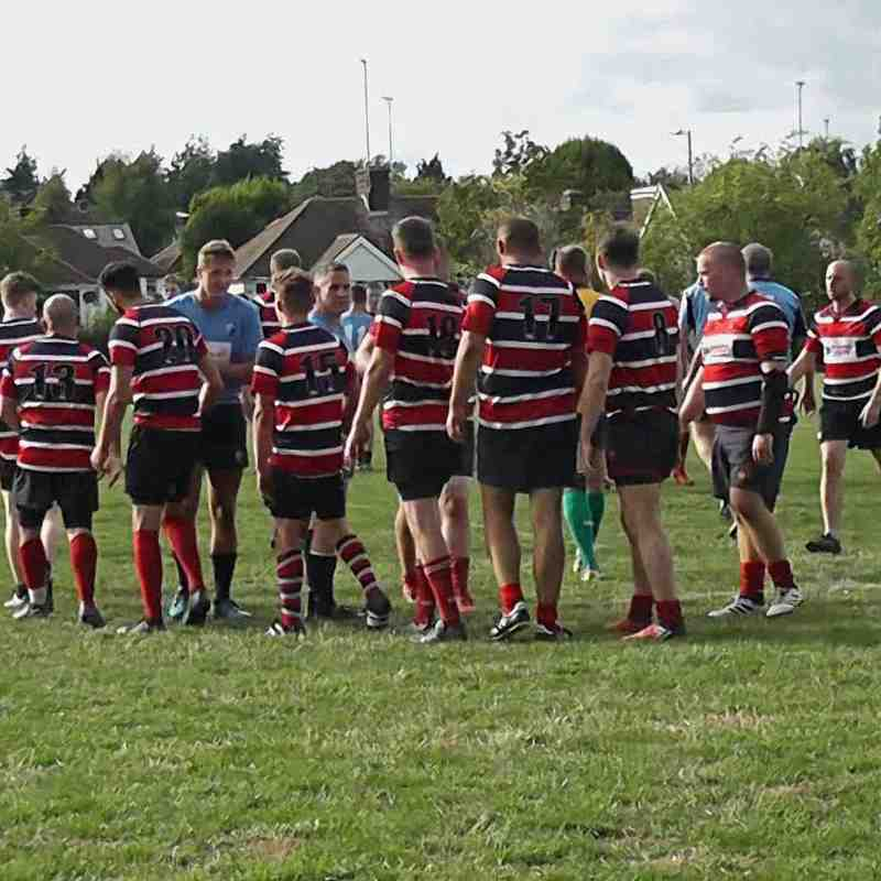 WRFC 2nd XV vs Weston RFC 1st XV - 08 September 2018