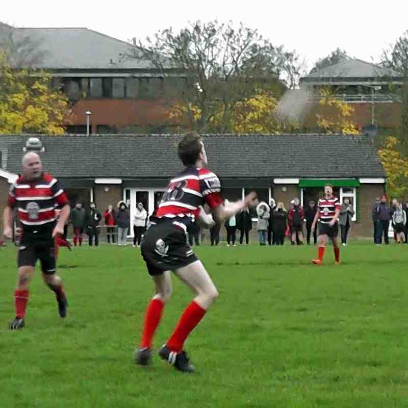 WRFC 2nd XV vs Berkhamsted RUFC 1st XV - 27 October 2018