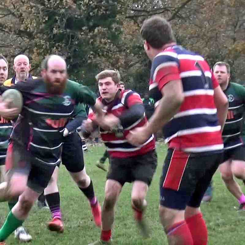 WRFC 2nd XV vs Chess Valley 1st XV - 24 November 2018