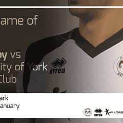 MATCH PREVIEW | FS Derby vs University of York Futsal Club