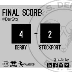 FS Derby 4 Stockport FC 2