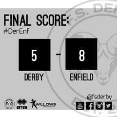 FS Derby 5 FC Enfield 8