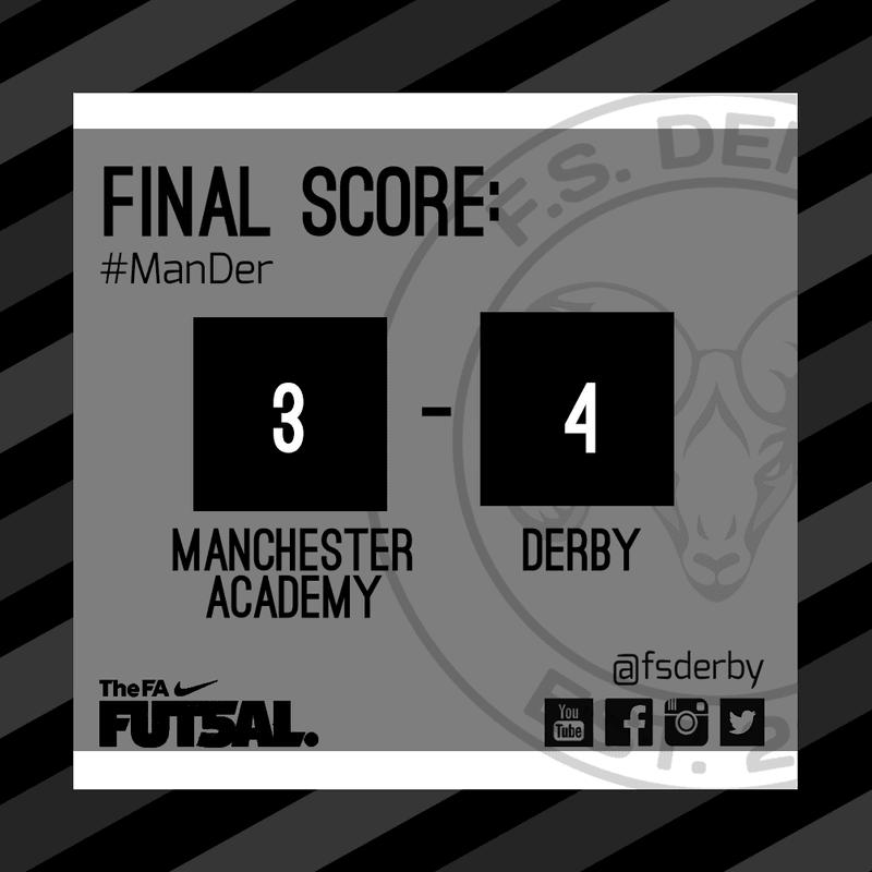Manchester FC Academy 3 FS Derby 4