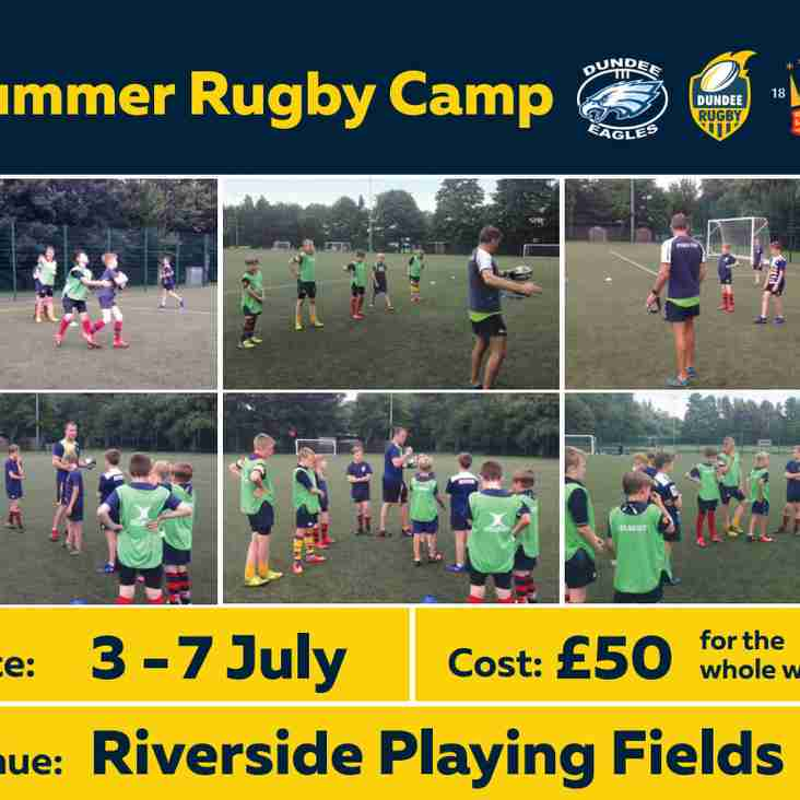 Dundee Rugby Summer Camp