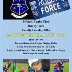 Annual Rugby Force Fun Day