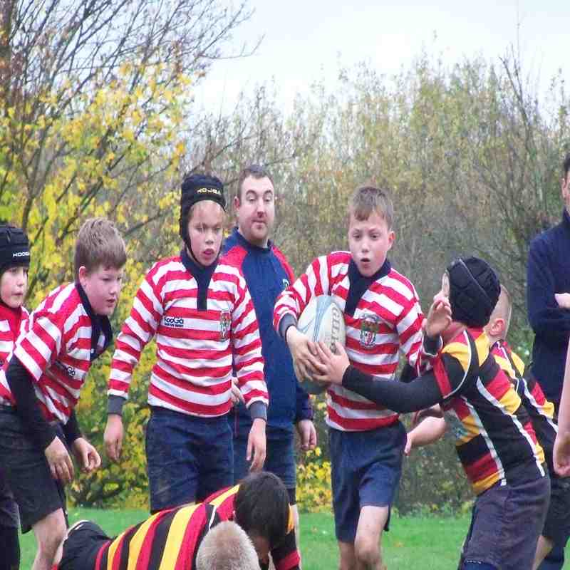 Aldwinains v Asthton on Mersey Under 11's 16.11.14