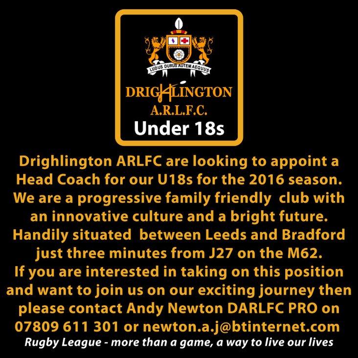 Drighlington ARLFC Under18s<
