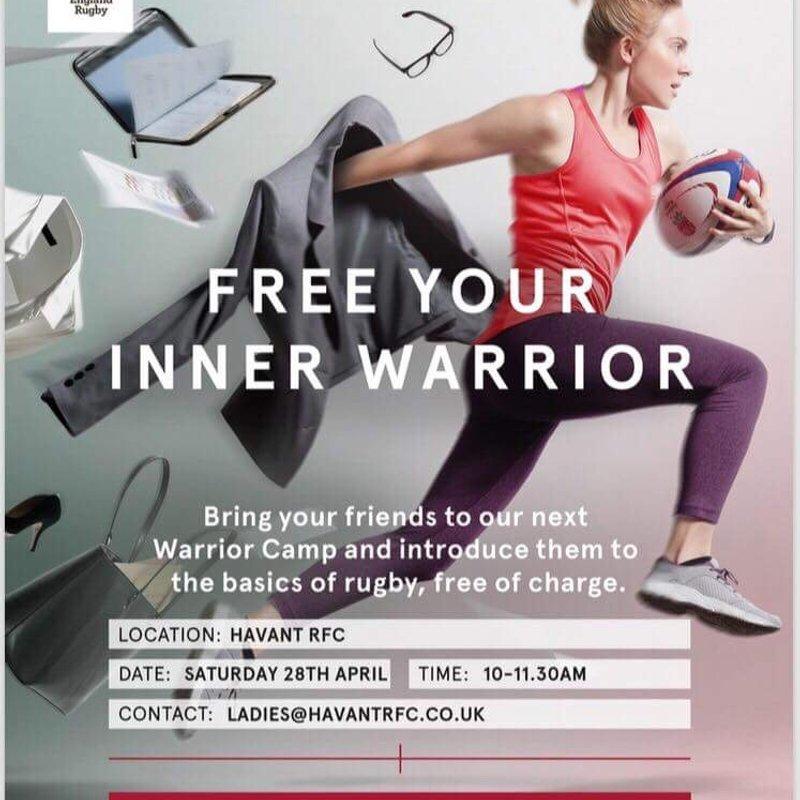 Inner Warrior training camp