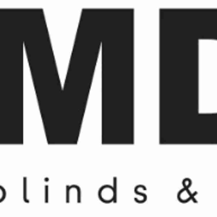 MDM Blinds sponsorship