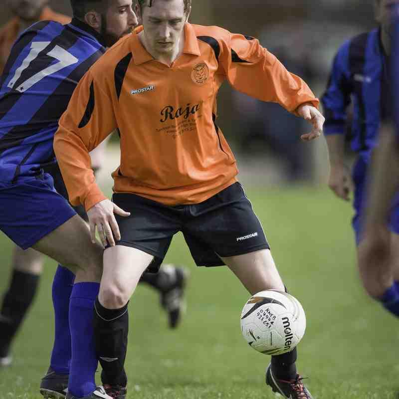 Knebworth Res 0, FC Lemsford 4 ~ Saturday 25 April 2015