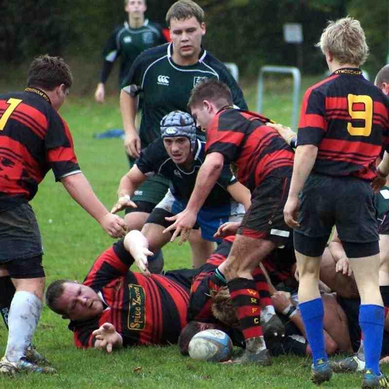 Raiders away at Wymondham II 19/10/13