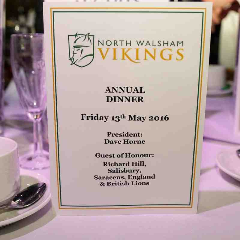 Club Dinner with guest speaker Richard Hill