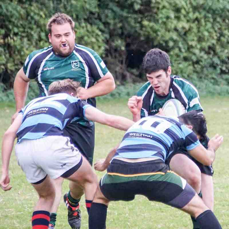 Raiders v Medics 1/10/16