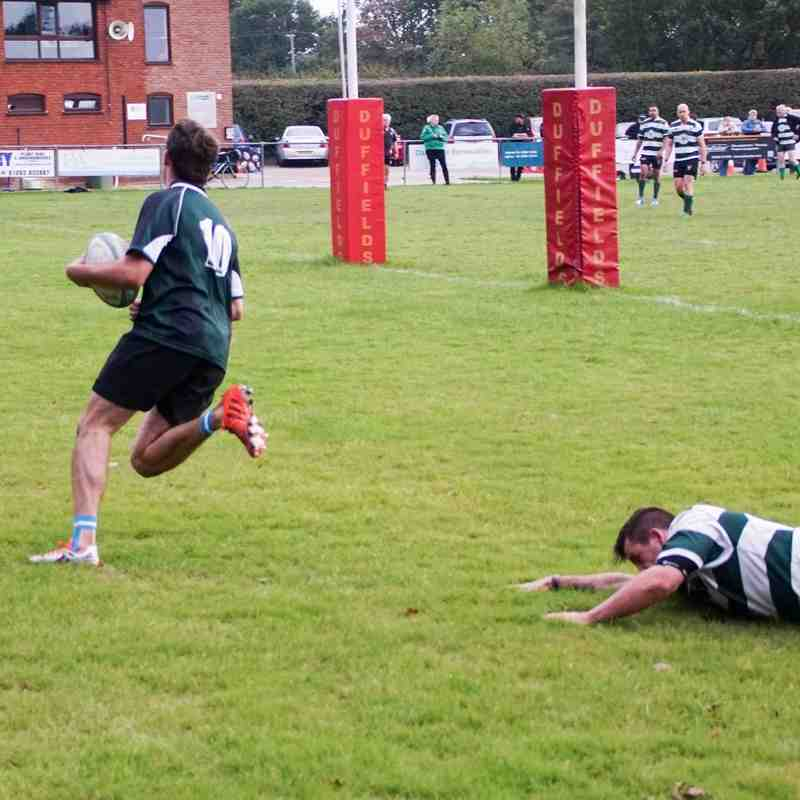 Warriors v Norwich Union II 64 - 0