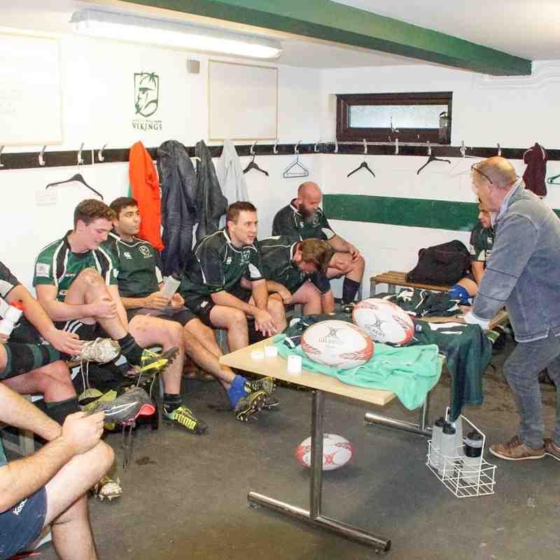 Warriors v Norwich Union II 64 - 0