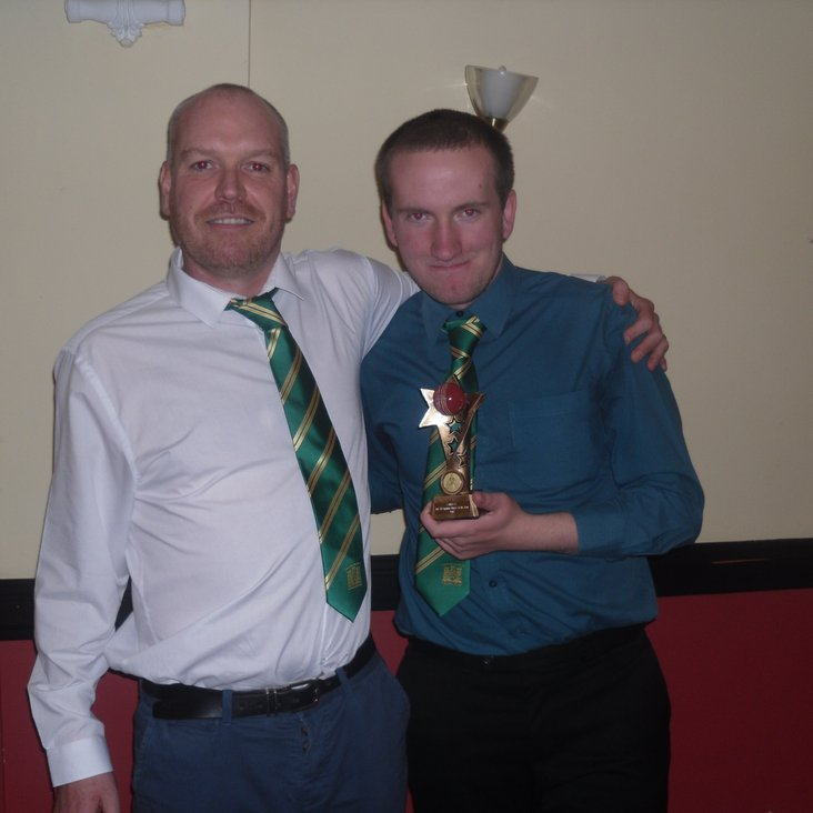 2nd XI Captain&#039;s Player 2018 Award.<