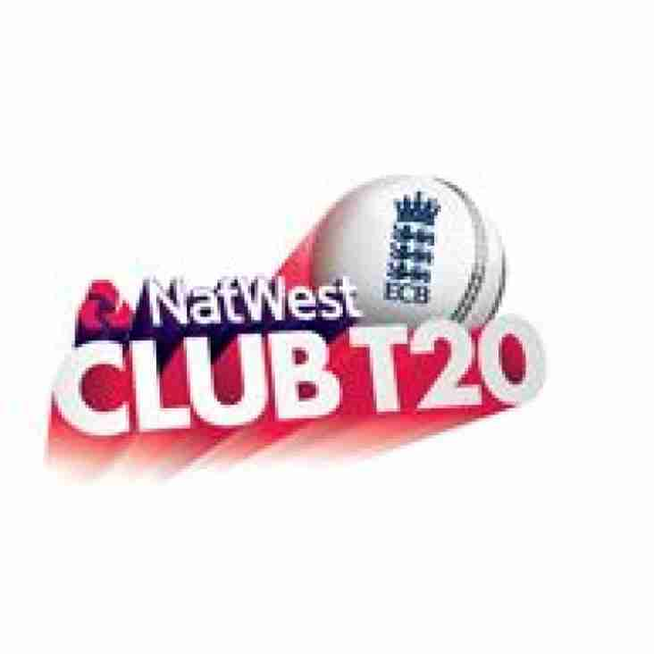 More National T20 success this weekend?