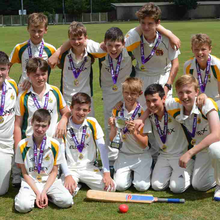 Barnt Green Under 13 and Under 15 County Champions