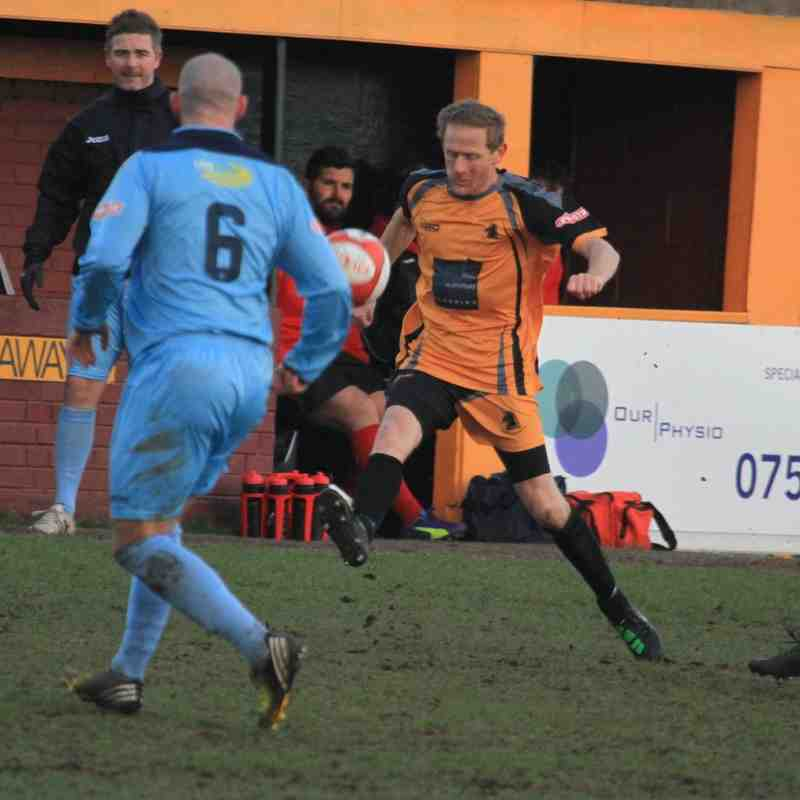 OSSETT ALBION V SCARBOROUGH ATHLETIC  by Adam Hirst