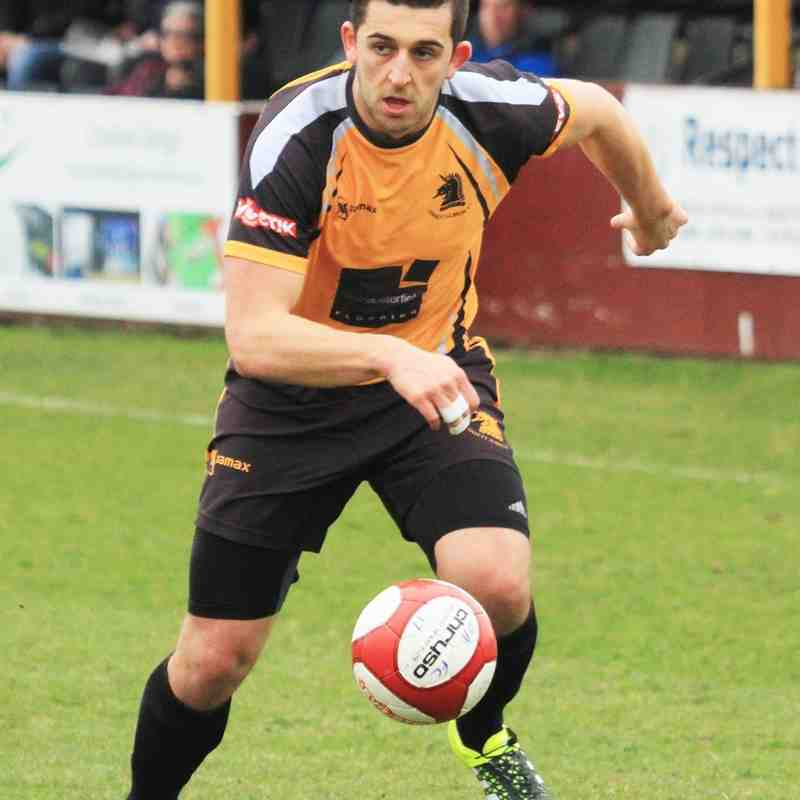 OSSETT ALBION V BRIGHOUSE TOWN by ADAM HIRST