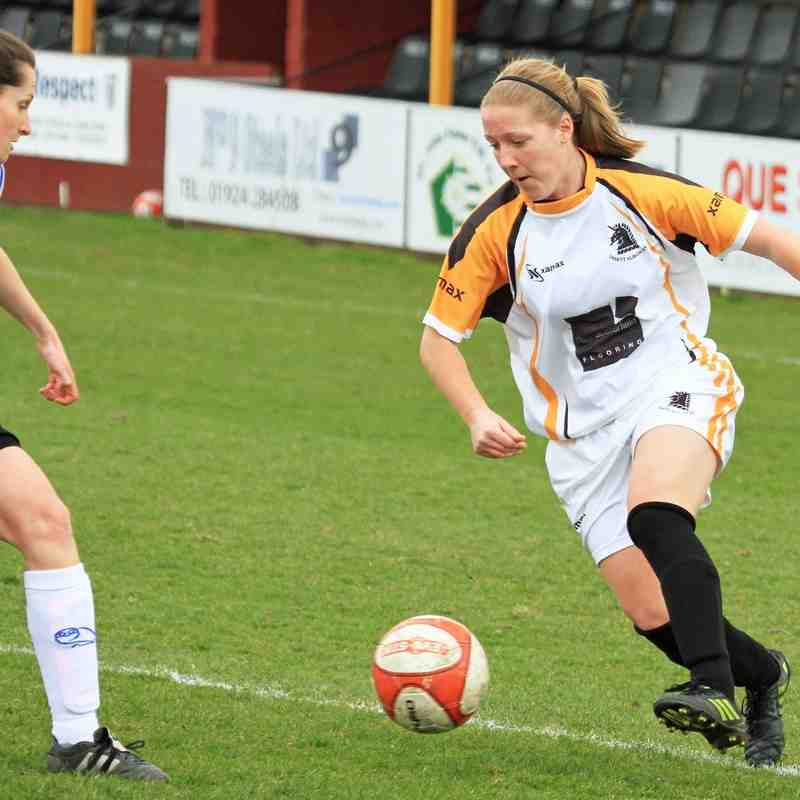 OSSETT ALBION LADIES V SHEFFIELD WEDNESDAY LADIES by ADAM HIRST