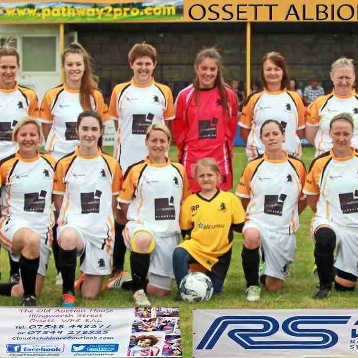 Ossett Albion Ladies Progress in the FA Women's Cup