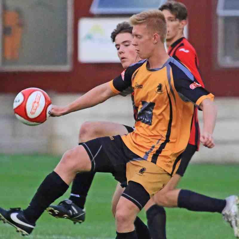 OSSETT ALBION U19 V HUDDERSFIELD YMCA U19